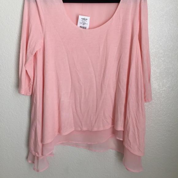 Women's size large pink shirt