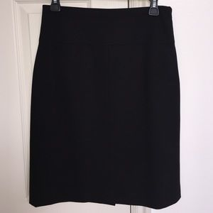 Banana Republic black pencil skirt, sz 6