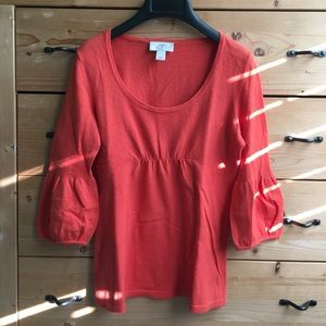 Loft light weight babydoll sweater XXSP