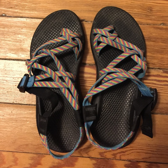 9aed70e44ce9 Chaco Shoes - Rainbow Chaco shoes