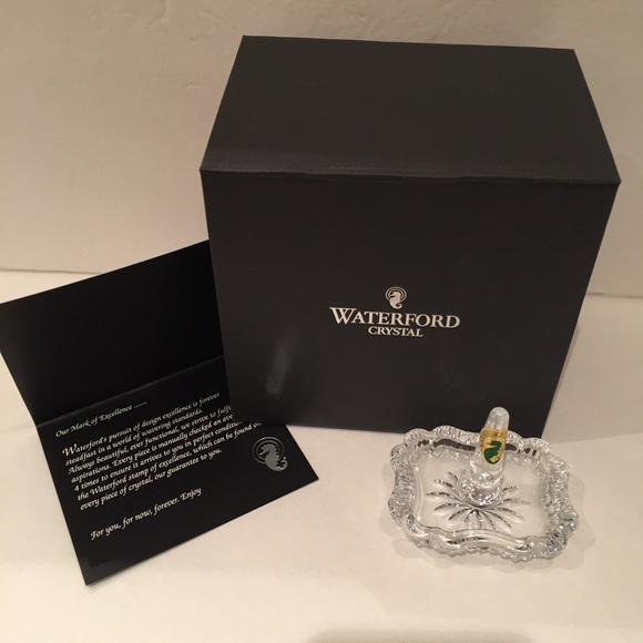 Waterford Jewelry Waterford Crystal Heritage Rectangular Ring Holder Poshmark