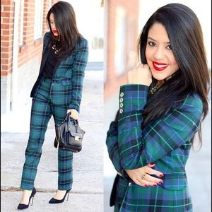 Tommy Hilfiger Other - Matching Plaid Blazer & Pants