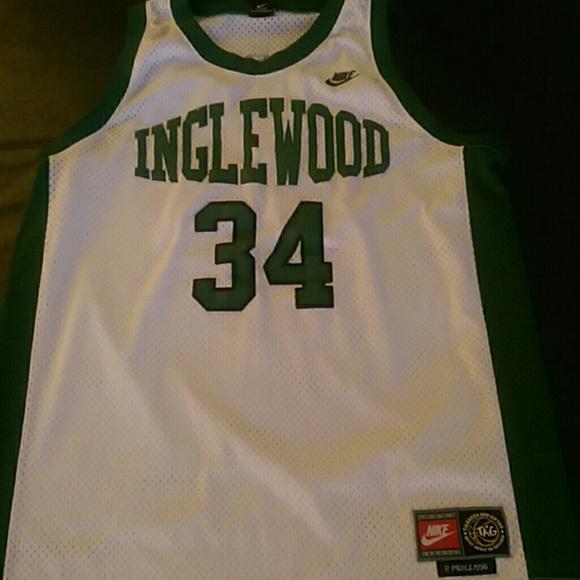 huge discount 91d8c fa845 Paul Pierce #34 Inglewood High School Jersey