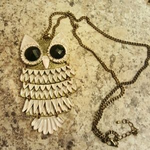 Final price! Owl Necklace