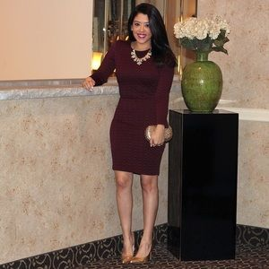Dynamite Dresses & Skirts - Burgundy Dress