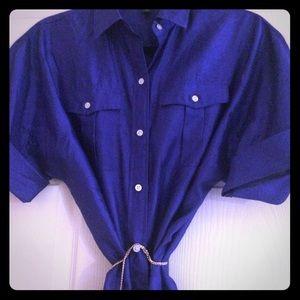Ralph Lauren Silk Shirtdress