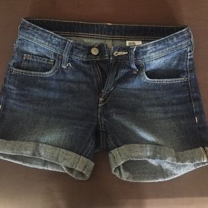 Denim little girl shorts