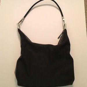 Black vintage Gucci handbag