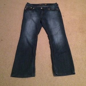 Seven7 Denim - Seven7 Bootcut jeans- Size 18