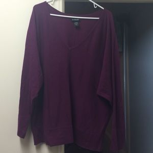 Lane Bryant Sweaters - Lane Bryant Purple sweater-18/20