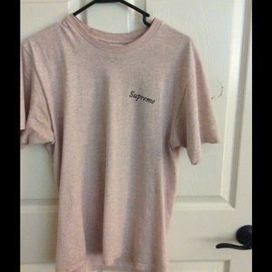 Supreme Heather Gray Bacchanal tee