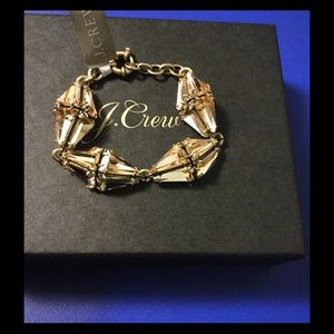 J Crew Crystal Prism Bracelet Brand New