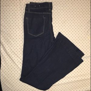 Mossimo NWOT pull on style Flare Jeans SZ 7
