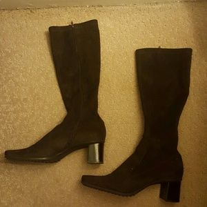 Franco Sarto Shoes - Dark brown suede Franco Sarto boots