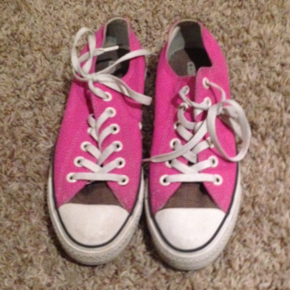 45 converse shoes pink and brown converse from