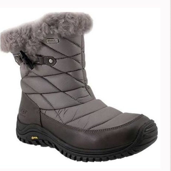 UGG Shoes | Brand New Grey Waterproof Winter Boots | Poshmark