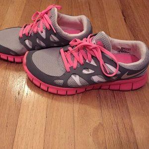 Nike free run 2 sz 7.5