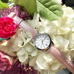 Timex Accessories - ↞ Light Pink Shimmery Watch ↠