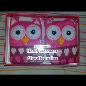 aroma home Accessories - Pink Owl Hand Warmers