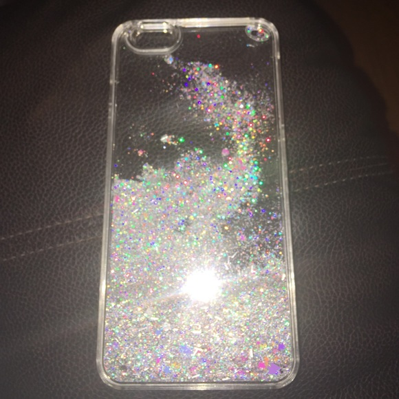 new products 7403d 9cff2 💜iPhone 6s Plus glitter water case💜
