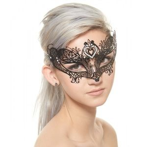 new concept b8a92 6b8f7 Amor Love Inspired Mardi Gras Laser Cut Mask
