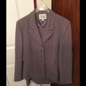 Le Suit Other - Le Suit Purple Pinstriped Suit