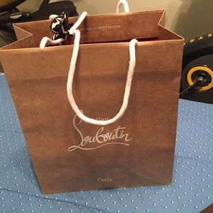 Christian Louboutin shopping bag