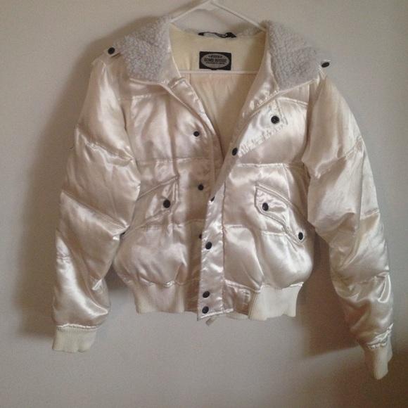 1de573874 Bomb Boogie Jackets   Blazers - White Down Bomber Jacket