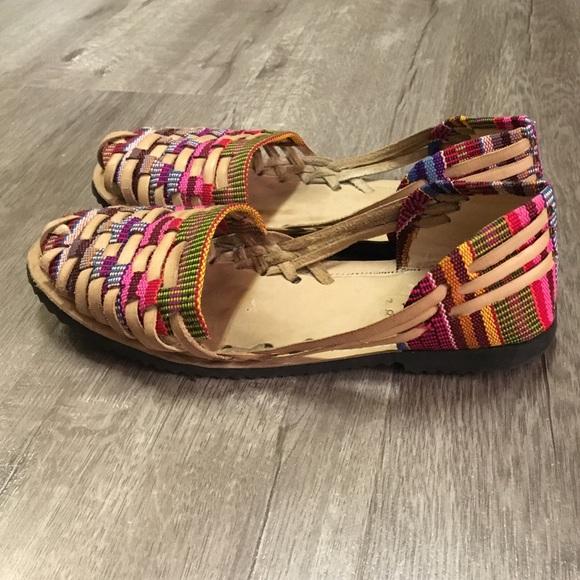 cb253c2769182 Authentic Mexican huaraches sandals size 38. M 569bd2235c12f8ccb0003b54