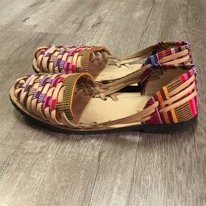 Poshmark Mexican Ltjfk1c3 Sandals 38 Shoesauthentic Size Huaraches g7fy6b