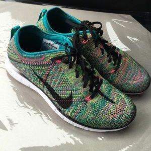 Nike Shoes - Rainbow Nike Flyknit 5.0
