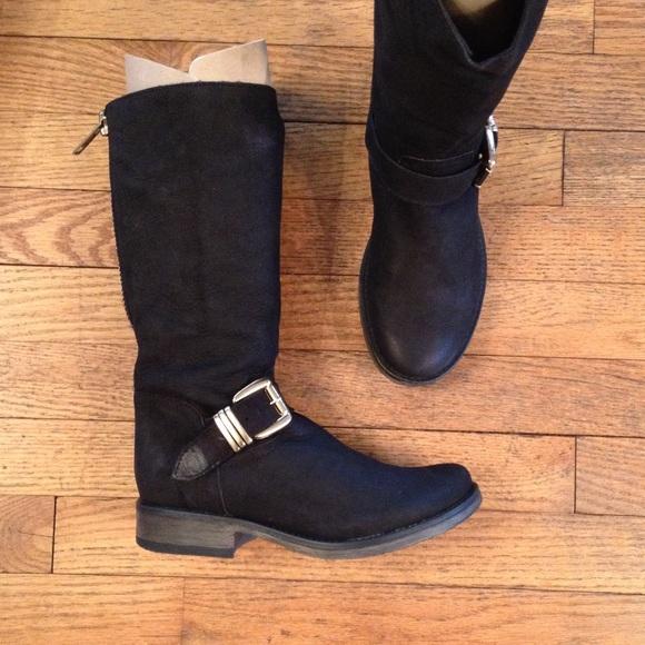 9580f204a37 Steve Madden Fllash black boots NWT