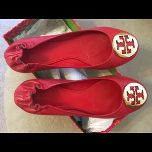 Red Tory Burch flats