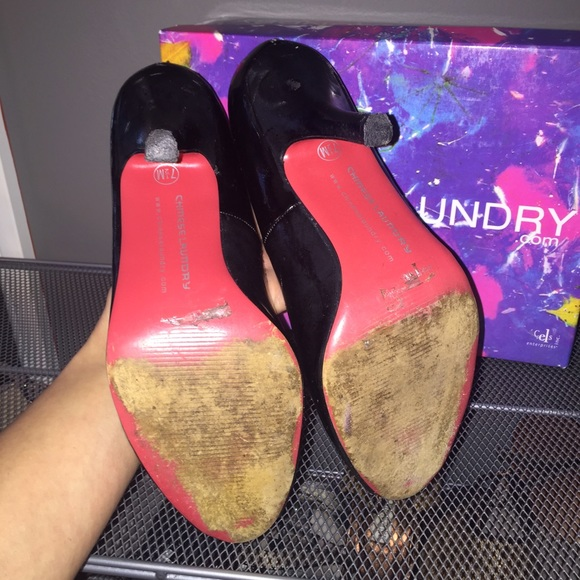 Chinese Laundry Shoes - Red Sole Chinese Laundry Peep Toe