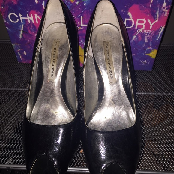 Chinese Laundry Shoes - Red Sole Chinese Laundry Peep Toe SALE