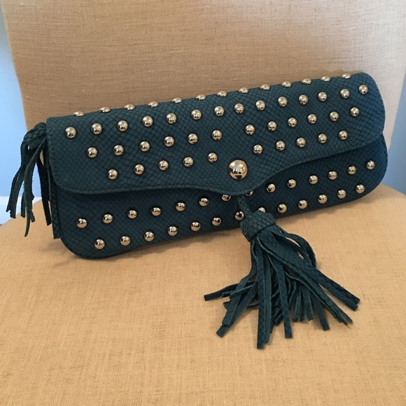 5de6da3b72e Hype Leather Clutch