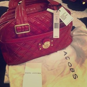 Marc Jacob Bowler Bag Authentic