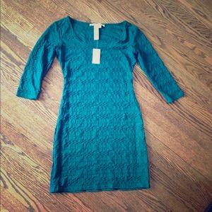 Max Studio NWT dark green dress size med