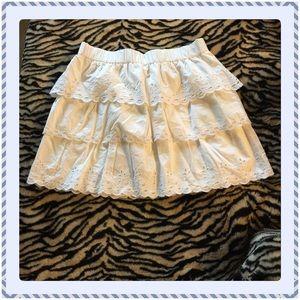 J. Crew Dresses & Skirts - Very Pretty White Eyelet Skirt.