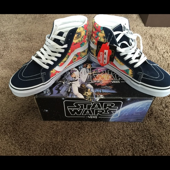 77a01fbdb1 Limited edition Star Wars vans Yoda Aloha