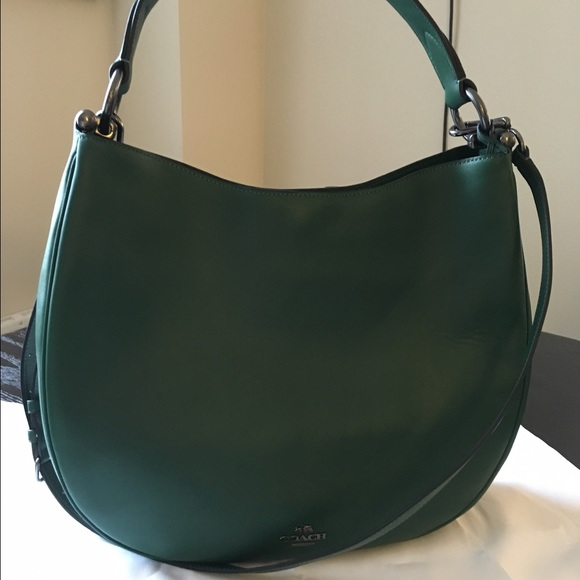 aa21680c718 Coach Bags   Nomad Hobo In Racing Green   Poshmark