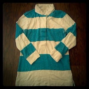 J. Crew striped rugby shirt