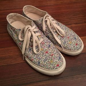 YMC Shoes - YMC floral Liberty print sneakers Vans 9