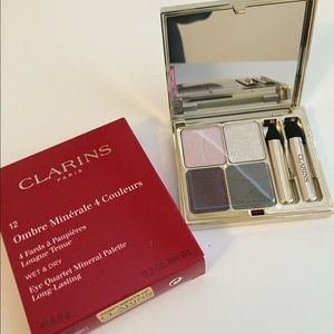 LTD. edition NEW CLARINS VIBRANT QUARTET PALETTE
