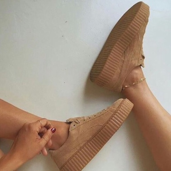 Puma Creepers Grey Oatmeal