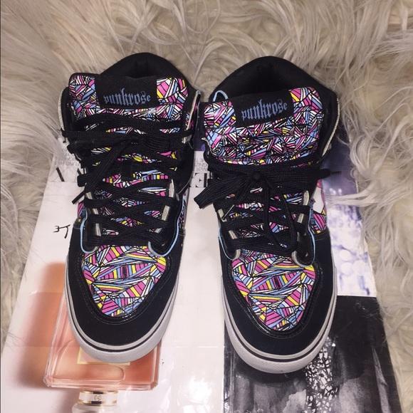 558e93171fc Graphic Punk rose sneaker. M 569c208f8f0fc48d5200b01e