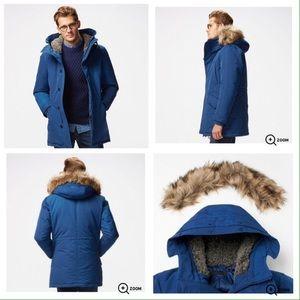 a753eb223 UNIQLO Men's Warm Tech Down Coat