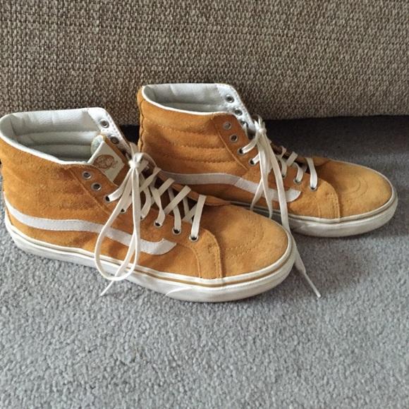 494508d748 Vans Shoes - Vans Sk8-Hi Amber Gold Marshmallow