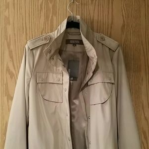 Kenneth Cole Reaction Jackets & Coats - NWT Kenneth Cole reaction khaki rain trench coat M