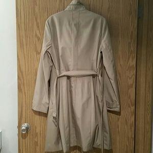 Kenneth Cole Reaction Jackets & Coats - NWT Kenneth Cole reaction khaki rain trench coat M